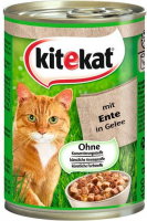 Kitekat Canned Food with Duck in jelly  400 g