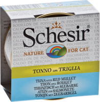 Schesir Cat Tuna with red mullet in broth  70 g