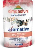 Almo Nature Alternative with Salmon  55 g