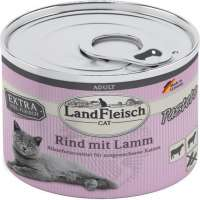 Landfleisch  Cat Adult Pate with Beef and Lamb  400 g nätaffär
