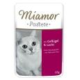 Miamor Pouch Pastei - Gevogelte & Zalm aan een speciale prijs in de PetsExpert Kattenwinkel