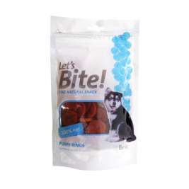 Let´s Bite Puppy Rings 80 g Tamhöna