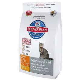 Hill's Science Plan Feline - Sterilised Cat Young Adult med Kyckling 300 g, 3.5 kg, 1.5 kg