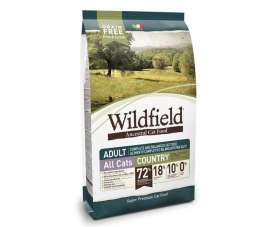 Wildfield Country Cat Adult - Pork, Chicken and Eggs 400 g, 2 kg