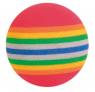 Trixie Set of Rainbow Balls, Foam
