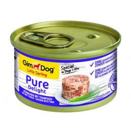 GimDog Little Darling Pure Delight com Frango e Atum  85 g, 150 g