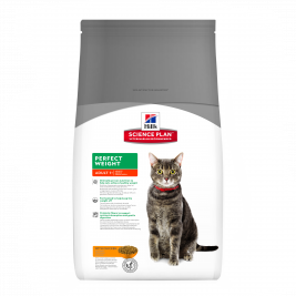 Hill's Science Plan Feline - Adult Perfect Weight med Kyckling 8 kg, 3 kg, 250 g, 1.5 kg