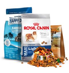 Ração seca produtos de qualidade para Cães a preços justos