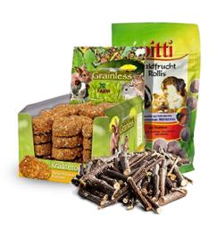Prodotti di qualità Snack e integratori per Piccoli animali ad un prezzo ragionevole