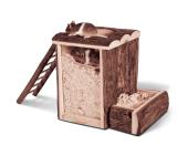 Freilaufgehege aus Holz günstig für Kleintiere