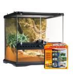 Glas terrarie bestil billigt til din Krybdyr online