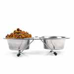 Trixie Dobbelt foderskål og skålestativ til en lav pris online