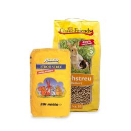 Strohstreu Qualitätsprodukte zum guten Preis für Kleintiere