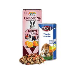 Nager Vitamine & Futterergänzungen Qualitätsprodukte zum guten Preis für Kleintiere