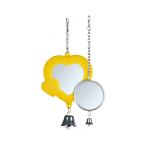 Spiegel mit Glocke günstig für Vogel