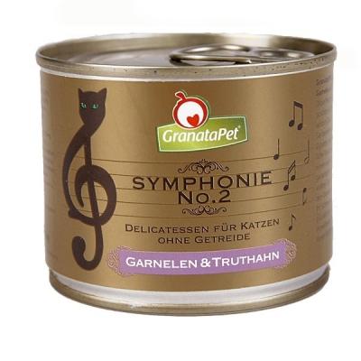 GranataPet Katze Symphonie Nr. 2 Nassfutter Garnelen + Truthahn 200 g