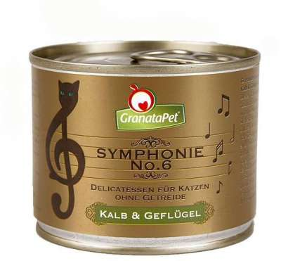 GranataPet Symphonie Nr. 6 Veal & Poultry 200 g