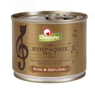 GranataPet Symphonie Nr. 1 Beef & Poultry 200 g
