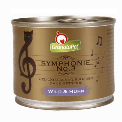 GranataPet Symphonie Nr. 3 Game & Chicken 200 g