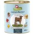 GranataPet Liebling's Mahlzeit Veau & Lapin 800 g - Nourriture au lapin pour chiens