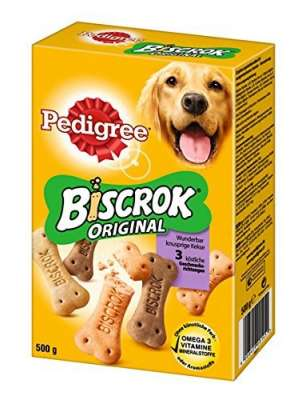 Pedigree Biscrok 3 variedades 500 g Frango & Carne de vaca & Cordeiro