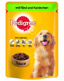 Pedigree Pouches with Beef and Rabbit in sauce 100 g Billig
