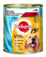 Pedigree Dose Adult Plus Fish Oil with Beef in Jelly bestill til gode priser