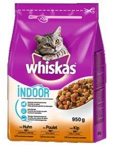 Whiskas Indoor mit Huhn 950 g