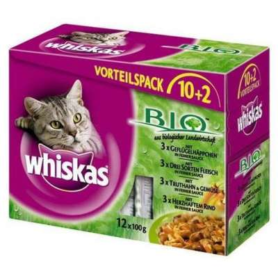 Whiskas Bio Multipack 12x100 g