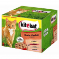 Kitekat Pouches 24 Multipack Colorful Meat & Fish Variety in Sauce  nätaffär