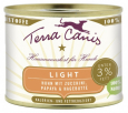 Terra Canis Light Menu, Chicken with Courgette, Papaya & Rose Hip 400 g