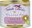Terra Canis Senior Menu, Game with Tomato, Apple & Health Herbs 400 g