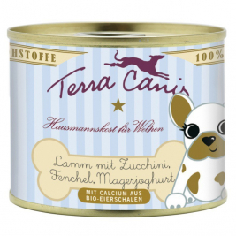 Puppy Menu, Lamb with Courgette, Fennel & Low Fat Yogurt Terra Canis 4260109621001