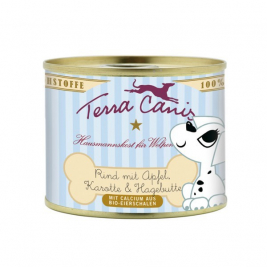 Puppy Menu, Beef with Apple, Carrot & Rose Hip Terra Canis 4260109620981