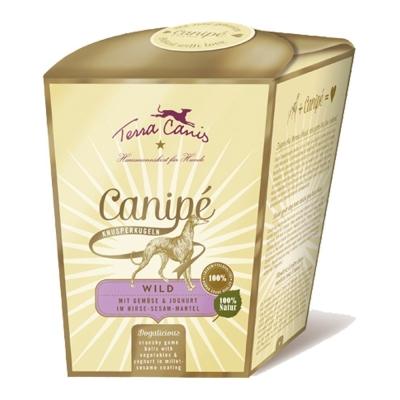 Terra Canis Canipé Classic, Gibier avec Légumes & Yaourt avec Millet et Sésame 200 g Gibier
