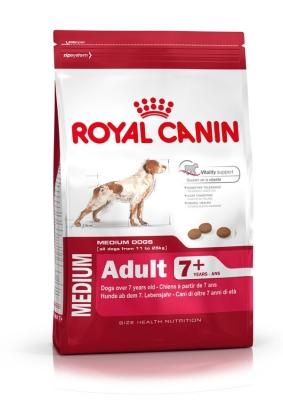 Royal Canin Size Health Nutrition Medium Adult 7+  10 kg, 15 kg, 4 kg
