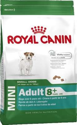 Royal Canin Size Health Nutrition Mini Adult 8+  2 kg, 8 kg, 800 g