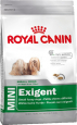 Size Health Nutrition Mini Exigent Royal Canin 2 kg