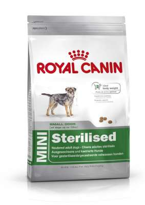 Royal Canin Size Health Nutrition Mini Sterilised  8 kg, 4 kg, 2 kg