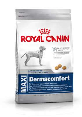 Royal Canin Size Health Nutrition Maxi Dermacomfort  12 kg, 3 kg