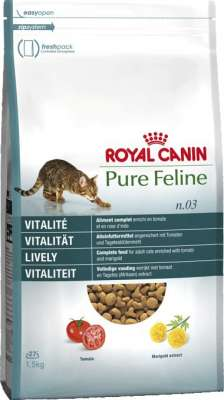 Royal Canin Pure Feline n.03 Vitalität 8 kg, 300 g, 3 kg, 1.5 kg