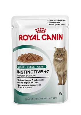 Royal Canin Feline Health Nutrition - Instinctive +7 i Gelé 85 g