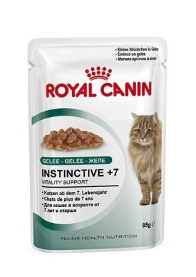 Royal Canin Feline Health Nutrition - Instinctive +7 in Jelly 85 g