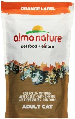 Almo Nature Orange Label Dry mit Huhn 105 g, 750 g