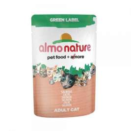 Green Label Wet Lachs Almo Nature  8001154124613
