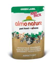 Green Label Raw Pack Wet Hühnerbrust Almo Nature  8001154123197