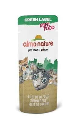 Almo Nature Green Label Mini Food Wet Filet de Poulet 3 g