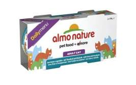Almo Nature Daily Menu Cluster with Tuna and Mackerel  2x170 g