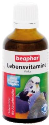 Beaphar Vinka-vitamina para aves 50 ml