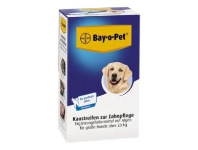 Bay-o-Pet Chewing Stripes - viherminttupuruliuskat 140 g Liha & Levä & Maito